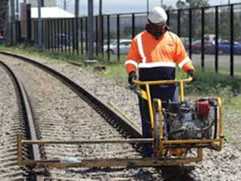 Rail infrastructure (track worker)